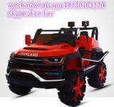 Conduite de bébé de couleur rouge sur le véhicule à télécommande de véhicule
