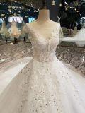 Material de melhor qualidade de Tulle Lace vestido de casamento