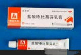 Terbinafine 염산염 크림