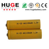 1.2V aa 500mAh Battery Ni-CD