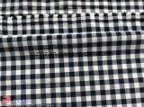 衣服のためのナイロンポリエステル小切手のジャカードスパンデックスの伸縮織物