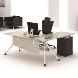 Bureau commercial moderne L Tableau en bois de meubles de forme