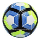 高品質の織り目加工の表面の革サッカーボール