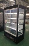 Supermercado Multi-Deck Chiller do Monitor da Porta de vidro