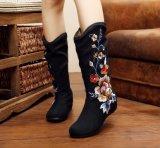 Mesdames fashion chaussures confortables chaussures de la tradition chinoise de la broderie de style