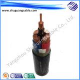 Os Multi-Núcleos 6kv XLPE isolaram o cabo distribuidor de corrente blindado fino Sheathed PVC de fio de aço