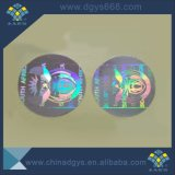 La aduana cortó una etiqueta engomada del holograma con tintas del uso del tiempo