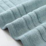 100%のエジプト綿の衰退抵抗力があるホテルのジャカード浴室タオル