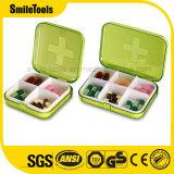 Portable 7 일 여행 의학 환약 상자 약 케이스