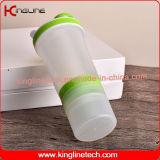 Nuova bottiglia dell'agitatore della proteina di disegno 500ml (KL-7097)
