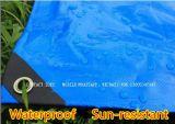 Coperta di trattamento concreta della tela incatramata isolata HDPE