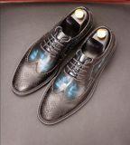 Kleding van de van de Bedrijfs schoenen van het Leer van China de DrijfSchoenen van de Mens
