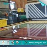 Landglass horno de vidrio templado plano maquinaria en la India