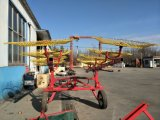 Hark 9lz-5.5 van het Wiel van het Hooi van 8 Schijven van de tractor de Hydraulische Vouwende