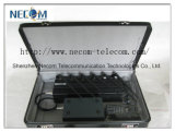 un'emittente di disturbo registrabile fissa portatile delle 6 fasce 16W; 50meters 6 cellulare registrabile dell'antenna 2g/3G, 433, 315 emittenti di disturbo di Lojack/stampo