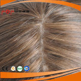 Grau superior Remy Hair Full Lace Mulheres Peruca (PPG-L-0803)