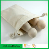 ギフト袋を包む自然な綿袋