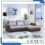 alta qualità moderna del sofà dell'ultima di disegno 2017 di stile mobilia europea del salone e base di sofà poco costosa