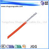 Yjv22t 3+1 ядер XLPE изоляцией ПВХ пламенно стальной ленты бронированные концентрические проводниковый кабель питания