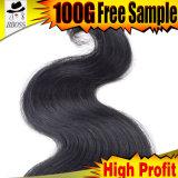 пригонка бразильских Fumi человеческих волос 8A сотка в партии