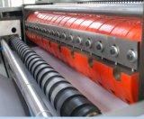 Cadena de producción automática del libro de ejercicio libro de ejercicio que hace la máquina