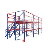 Opschorten het Van uitstekende kwaliteit van het Rek van de Zolder van het Metaal van het Systeem van de Opslag van het pakhuis