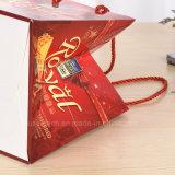 La lamination glacé Papier de haute qualité des sacs-cadeaux avec poignées