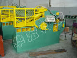 기계 악어 가위를 재생하는 유압 폐기물 금속 조각 절단
