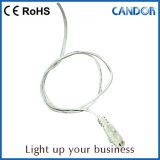El almacén de los productos de cuidado de piel en el estante con el LED enciende para arriba el producto por la iluminación de la cabina del Manufactory LED de la sinceridad de China