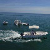Liya 5m de Verkoop van de Boot van Hull van de Glasvezel van de Vissersboot van de Motor