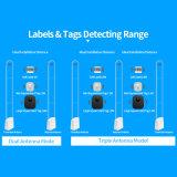 Antenne van het Systeem EAS rf van de Gevoeligheid van het Frame van het Apparaat 8.2MHz van het Alarm van de koopwaar de Anti-diefstal Acryl Regelbare voor de Scanner van het Winkelcomplex EAS van de Detailhandel