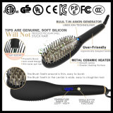 Straightener LCD cerâmico da escova de cabelo (Q20)