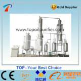 Utiliza el reciclaje de aceite de motor negra de la unidad de destilación