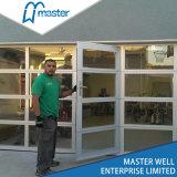 투명한 부분적인 상업적인 문 또는 Temperated 유리제 차고 문 또는 젖빛 유리 차고 문
