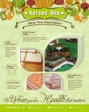 Gemüsepflanzer mit angehobenem Garten-Bett-Blumen-Garten-Potenziometer zusammenbauen