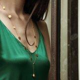 형식 보석 새로운 디자인 Hight 질 및 최고 판매 여자 금은 도금했다 925의 은 순은 목걸이 보석 (N6759)를