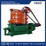 Máquina de la prensa de petróleo de soja de la eficacia alta, equipo de la prensa del aceite de cocina de la prensa de planchar de petróleo