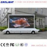 Schermo di visualizzazione mobile del LED del bus dello schermo di visualizzazione del LED del tassì dello schermo di visualizzazione del LED del camion dello schermo di visualizzazione del LED P4mm per la pubblicità mobile