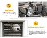 Tenuta dell'incubatrice automatica piena dell'uovo del pollo 2112 da vendere