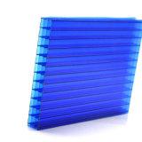 Plastic Types voor Polycarbonaat Vier van de Dekking van het UVLicht van het Dak Plastic het Blad van de Muur