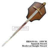 ライオンの剣の中世剣の装飾の剣103cm