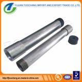 Tubo d'acciaio filettato galvanizzato del materiale da costruzione