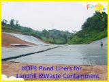 HDPE superficial liso Geomembrane para las lagunas del tratamiento de Wasterwater