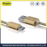 1m de comprimento de cabo de dados Micro USB de carregamento de acessórios móveis