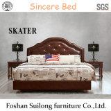 A20 미국식 직물 침대 가죽 침대