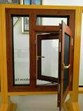 網が付いているWoodwinフォーシャンの熱壊れ目の緩和されたガラス窓