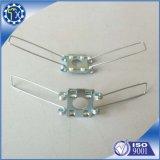 LEDの天井ランプのスポットライトのためのタイプバネクリップを押す金属