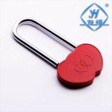 Amor populares cadeado vermelho Coração duplo de casamento casal cadeado (YH1009)