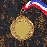Alliage de zinc moulé insert vierge sports Médaille d'honneur de métal