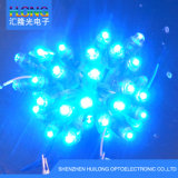 12mm LED 화소 구멍을 뚫은 표시를 위한 단 하나 색깔 빛
